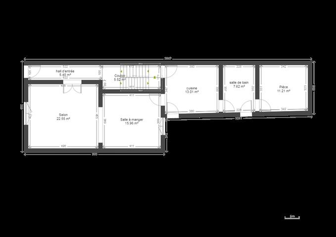 Maison - Binche Leval-Trahegnies - #3697901-1