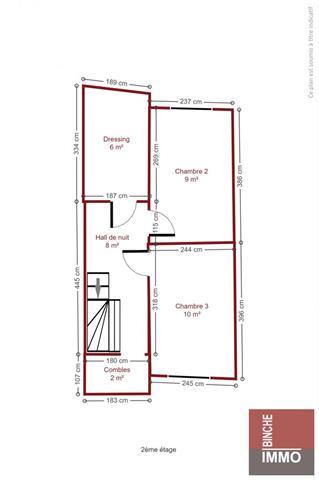 Maison - Binche - #3949814-12